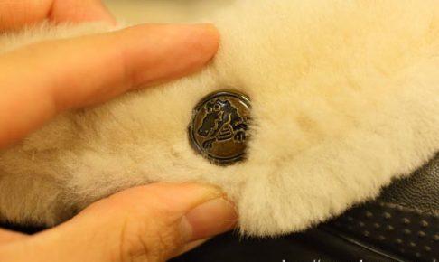 羊毛ファー付きクロックス「クラシック マンモス ラックス クロッグ」