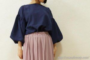 NOWiSTYLE(ナウアイスタイル)のバルーン袖カットソー