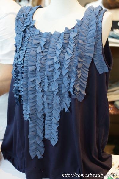 【楽天市場】【楽天市場】オシャレウォーカーのフリルタンクのフリルタンク×ふわさらロングスカート