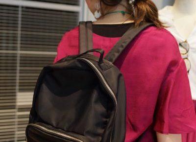 フェリシモ通販で買える人気のきれいめブラックリュック