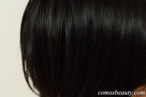 ラサーナ海藻ヘアエッセンスでケアした髪
