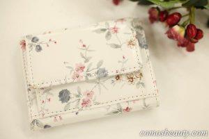 【楽天市場】GIRLのミニ財布 B-10花小ホワイト