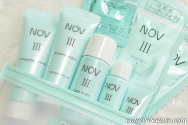 NOV lll(ノブ3)トライアルセット