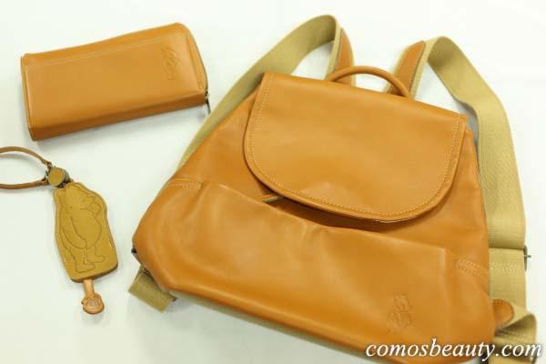 【ベルメゾンネット】大人女子が持ちたいプーさんの本革リュック&お財布がかわいい!