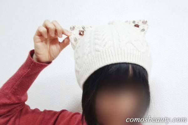 アナスイの猫耳ニット帽「ネコミミワッチ」が可愛すぎて買いました!