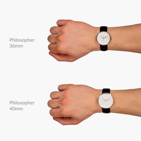 Nordgreen(ノードグリーン)の腕時計 Philosopher(フィロソファー)サイズ比較